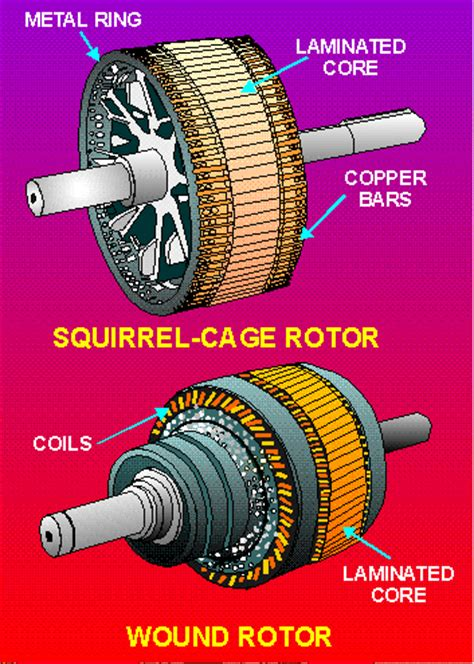 types of induction motor induction motors