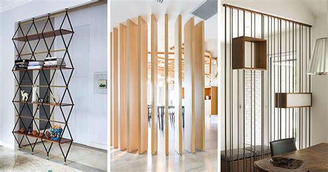 desain sekat ruangan minimalis modern  elegan