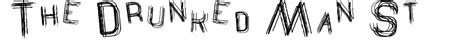 rubber st font generator the drunked st font