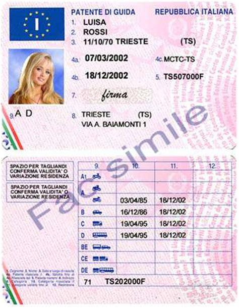 ufficio centrale operativo motorizzazione cambio di residenza gli obblighi su patente e libretto di
