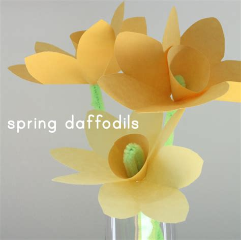 How To Make Paper Daffodils - paper daffodils ted s