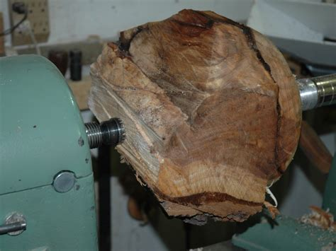 the turn the hollows begins with turning a hollow elm sphere
