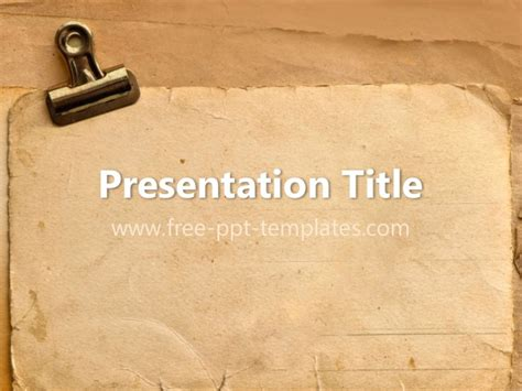 powerpoint themes vintage antique ppt template