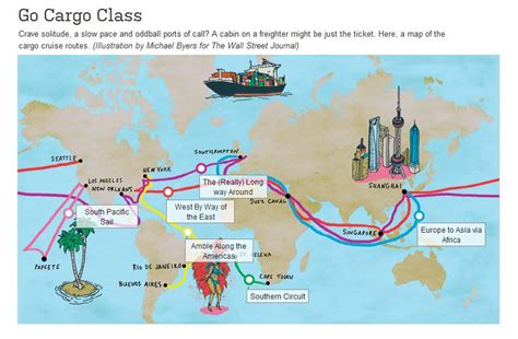 ship route map french line the cruise people ltd