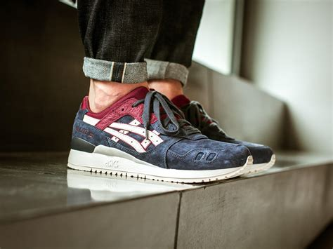 Asics Gel Lyte Blue Mirage Sporty asics gel lyte iii india ink sole collector