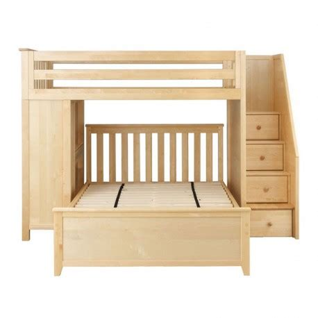 Bunk Beds With Stairs And Desk by Brighton 1 Loft Bunk Bed Stairs Desk