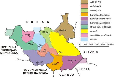 south sudan map file south sudan administrative map pl png