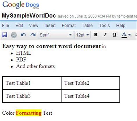 convert pdf to word visual basic convert word document to html pdf and other formats