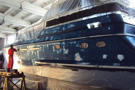 yacht work hull works yachts service