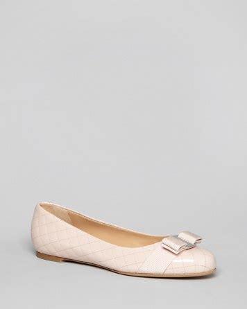 Sepatu Baguss Salvatore Ferragamo Luxury Ribbon Flats salvatore ferragamo logo ballet flats isea quilted bloomingdale s