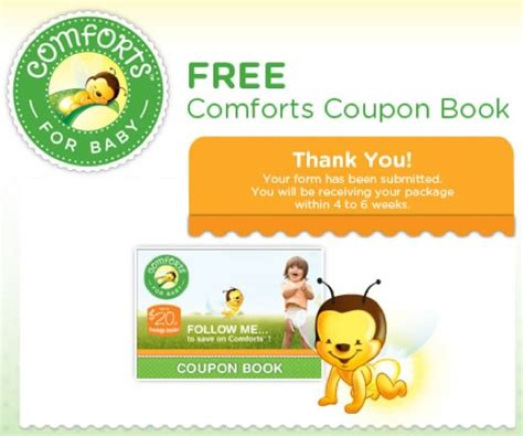 comforts for baby free comforts for baby product coupon book kroger brand