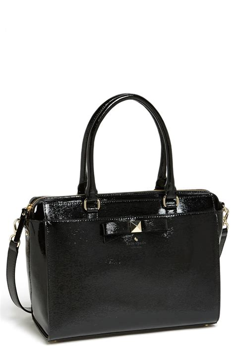 Kate Spade Beacon Jeanne Tartan kate spade beacon court jeanne tote in black lyst