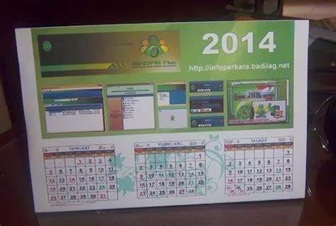 tutorial desain kalender meja download kalender meja siadpa plus 2014 coreldraw