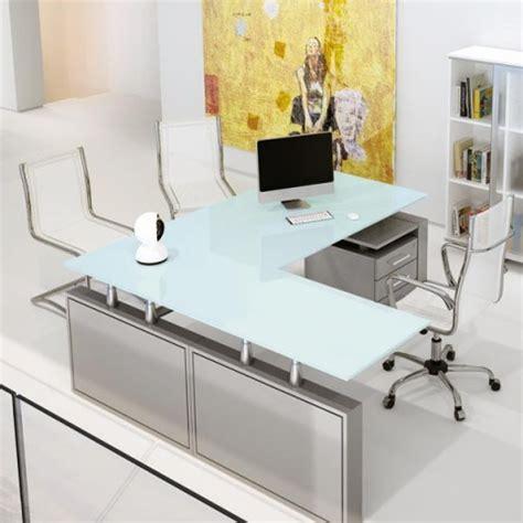 scrivania cristallo ufficio scrivania direzionale giano metal in cristallo