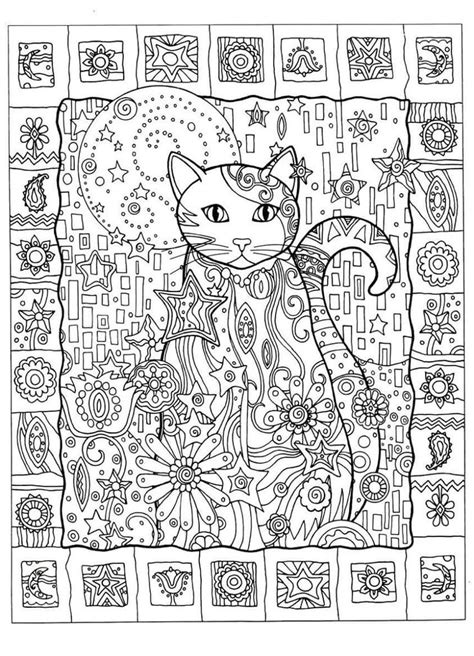abstract cat coloring pages abstract zentangle cat coloring page 187 coloring pages kids