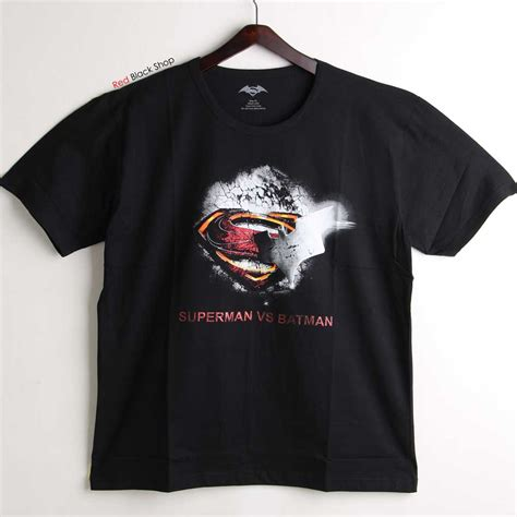 Kaos Tshirt Superman Vs Batman kaos oblong motif batman vs superman hitam elevenia