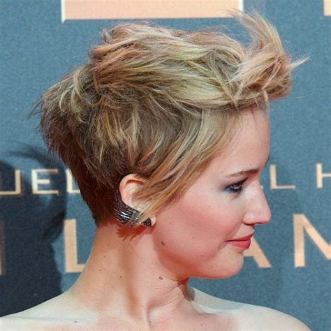 pin jennifer lawrence haircut 2014 short on pinterest jennifer lawrence short hair cut jennifer lawrence short