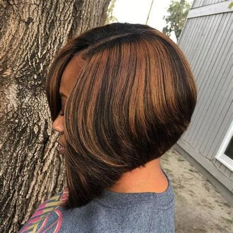 angled bob hairstyles over 60 60 showiest bob haircuts for black women bobs 2017