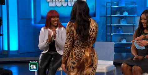 has dr rachael on the doctors had her baby yet swv s leelee shows off her new booty dr rachael