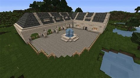 Ranch House Floor Plan by Modern Horse Stables House Minecraft Project