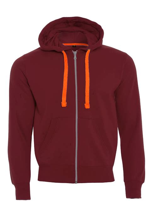 Jaket Zipper Hoddie Sweater 2 boys fleece zip up hooded sweatshirt neon strings sleeve jacket top ebay