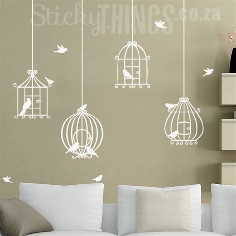 birdcage wall stickers bird cage wall decal sticker stickythings co za