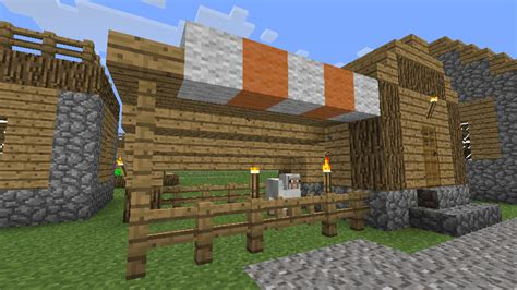 Horse Barn Blueprints by Village Taverns Updated Structures Minecraft Mods Curse