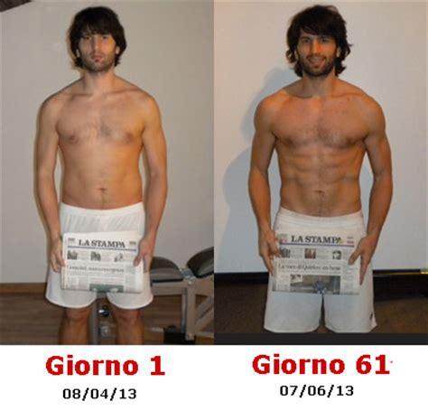 fisico perfetto maschile alimentazione giorno 61 dei giochi fitnessmax it