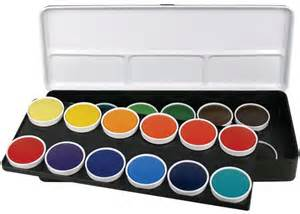 water color set finetec watercolor paint transparent 24 color set color