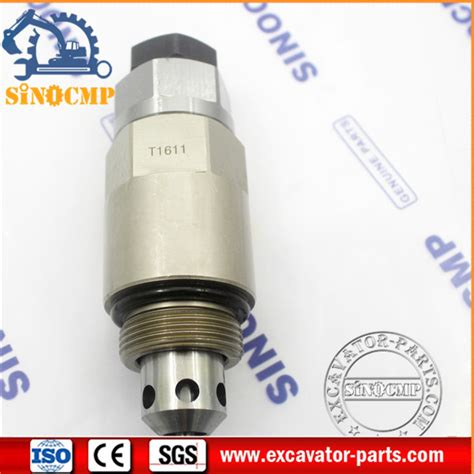 Safety Valve Pn 723 90 61300 723 40 91200 relief valve fit komatsu pc300 8