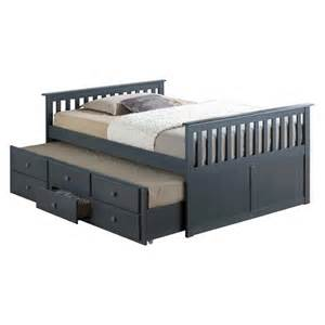 broyhill marco island captain s bed with tr target
