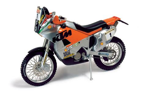Ktm Lc8 Ixo Models Ktm Lc8 Winner Dakar 2002 Fabrizio Meoni 1 24