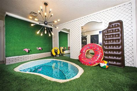 Home Interior Design Las Vegas one great room a 60s style tiny indoor pool las vegas