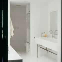 Modern White Tile For Bathroom Contemporary Bathroom With White Tiled Walls Housetohome