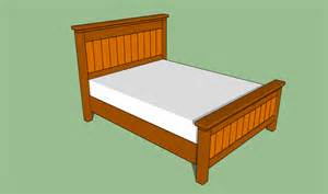 How To Bed Frame Woodwork Plans For Building A Size Bed Frame Pdf Plans