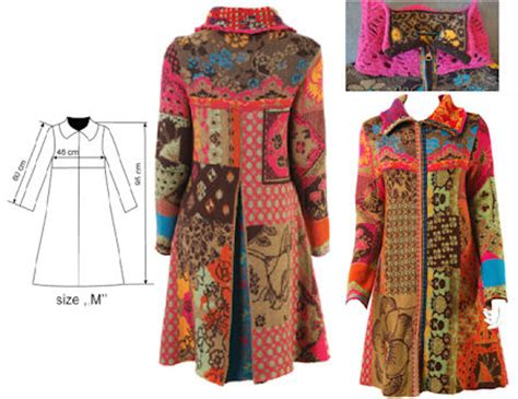 Patchwork Jacket Pattern - quilted coat patterns for free quilt pattern