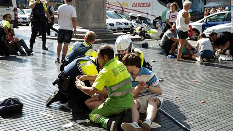 barcelona attack barcelona attack is worst in a day of violence in spain cnn