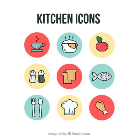 kitchen icon kitchen icons vector free download