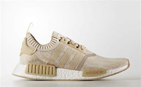 Adidas Nmd Beige adidas nmd r1 primeknit linen khaki release date sneaker bar detroit