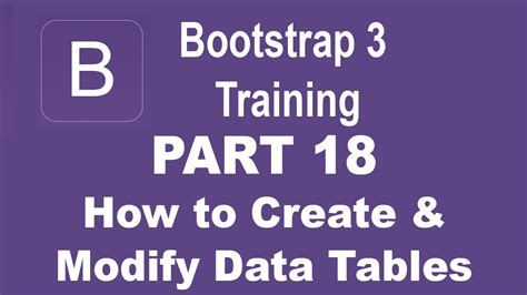 django tutorial for beginners ppt bootstrap tutorial for beginners part 18 how to