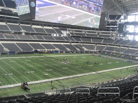 level club at t stadium football seating