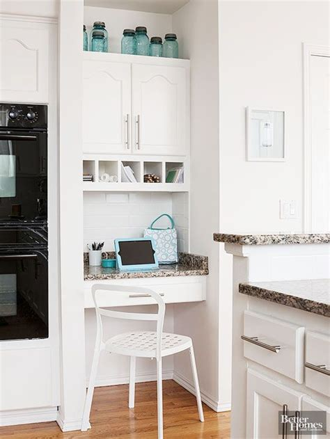 kitchen cabinet desk ideas 15 ideas for decorating above kitchen cabinets jars
