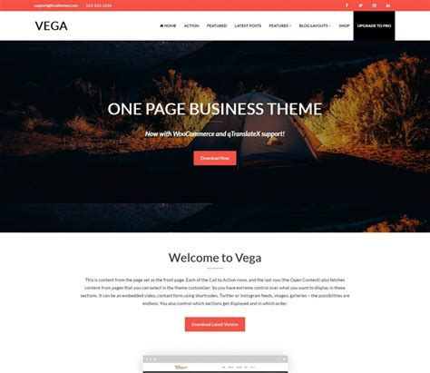 one page layout wordpress free 55 best free wordpress themes and templates for 2018