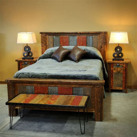 barnwood beds barnwood beds rustic beds other metro by four
