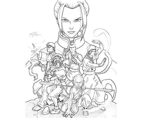 Avatar Prince Azula Yumiko Fujiwara Avatar Azula Coloring Pages