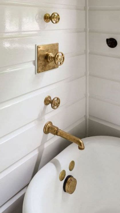 gold bathroom walls antique gold shower fixtures transitional bathroom