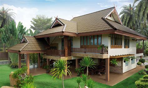 Small House Designs Thailand แจกแบบบ านทรงไทยประย กต 5 แบบฟร Nucifer