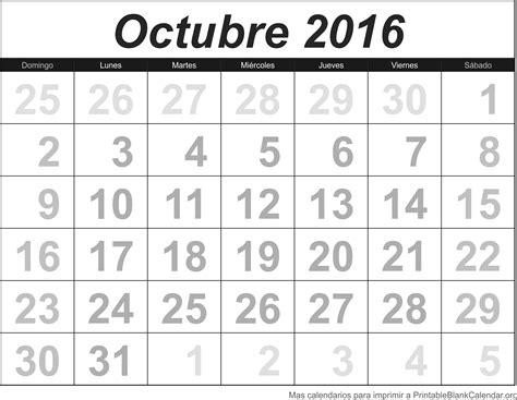Calendario 2016 Con Festivos Para Imprimir Octobre 2017 Calendario Para Imprimir Calendarios Para