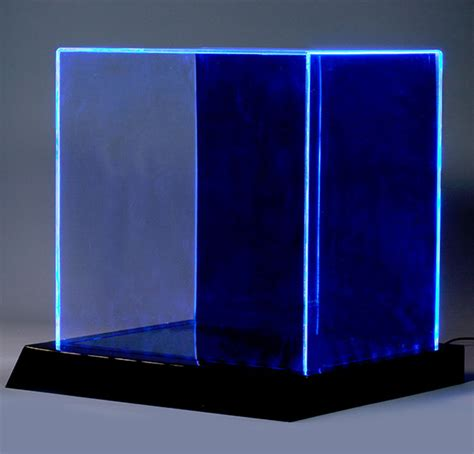 led lighted display case