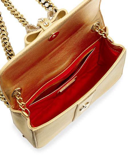 Mini Sweet I Gold christian louboutin sweet charity mini backpack gold
